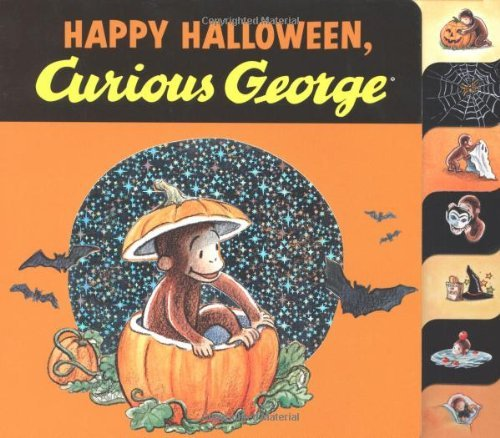 Curious George Happy Halloween by H.A. Rey (2-Jul-2012) Board - Halloween, Curious Happy George