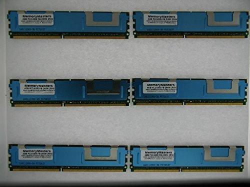 memorymasters 24GB 6x 4GB PC2-5300ECC FB-DIMM Apple Mac Pro (4-Core) 1. Gen. 2006-2007 -