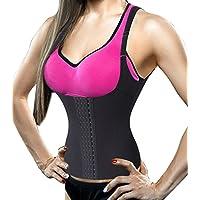 Damen Waist Trainer Vest Body Shaper Sport Cincher Korsett Taille Corsage 4 Haken mit Adjustable Strap