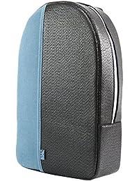 M.R.K.T. Kris 545500B Messenger Bags, Black/Lake Blue, One Size