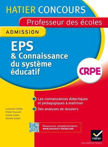 Concours professeur des coles 2014 - EPS et Connaissance du systme ducatif - Oral d'admission by Laurence Chafaa (2014-01-29)