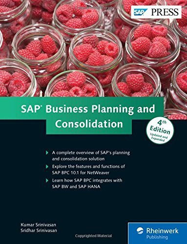 SAP Business Planning and Consolidation; SAP BPC (4th Edition) by Kumar Srinivasan (2015-04-04)