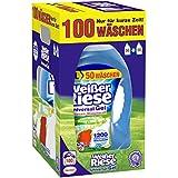 Weißer Riese Universal Gel Waschmittel, 1er Pack (1 x 100 Waschladungen)