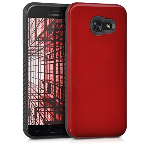 Preisvergleich Produktbild kwmobile Samsung Galaxy A5 (2017) Hülle - Hybrid Handy Cover Case Schutzhülle - Handyhülle für Samsung Galaxy A5 (2017)