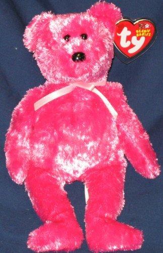 b966443b2d9 Ty 0008421400041 Beanie Baby Sherbet The Bear Raspberry Version ...