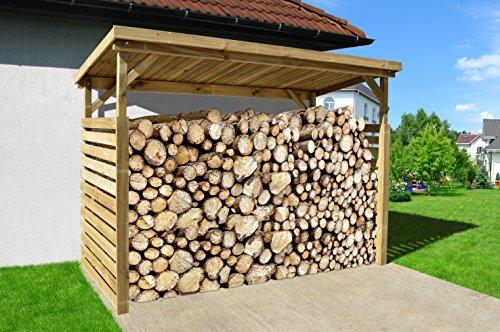 *Weka Brennholzlager, 663 B Größe 2, braun, 310x130x204 cm, 663.2611.00.01*