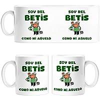 Taza Real Betis soy del Betis como mi abuelo - Cerámica