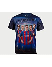 Camiseta FC BARCELONA MODELO FIRMA-17 JR TALLAS10-12-14 (14)
