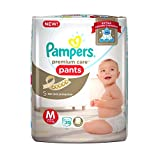 Pampers Premium Care Medium Size Diapers Pants (20 Count)