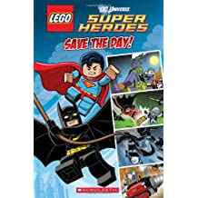Lego DC Superheroes: Save the Day (Comic Reader #1) (Lego Dc Superheroes Comic Readers)