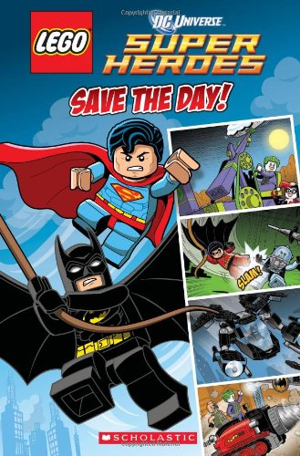 Lego DC Superheroes: Save the Day (Comic Reader #1) (Lego Dc Universe Superheroes) por Trey King