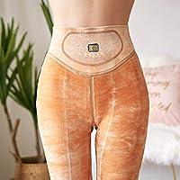 Leggings Pantalones de Quantum Health Protección de la Cintura Palacio Piel Color Pies Pantalones Calientes una Pieza Más Terciopelo Espesar Medias para Pies,Pisar el pie,Un tamaño (80-1