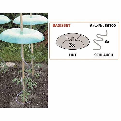 Preisvergleich Produktbild Tomatenhut Basis-Set (3 Hüte+Schläuche)