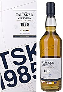 Talisker Single Malt 27Years Old Vintage 1985LIMITED EDITION 2013with Gift Bag (70Litres) from Talisker