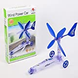 Build Your Own Wind Power Car Toy Diy Experimental Educational Science Lab Kit Experiment Set