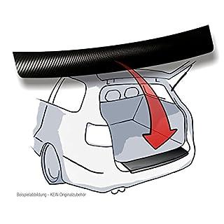 Lackschutzshop - Ladekantenschutz, Lackschutzfolie, Schutzfolie in 3D Carbon Black passend für Fahrzeug Modell Siehe Beschreibung - 160µm 3D Carbon schwarz