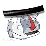 Lackschutzshop Ladekantenschutz passend für BMW 2er / Zweier Active Tourer (Typ F45 ab BJ 2015, ActiveTourer) - 3D Carbon schwarz