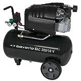 bavaria Kompressor BAC 380/50 V (2000 W, ölgeschmiert, 50 l, Ansaugleistung 380 l/min, 8 bar, 2 Zylinder)