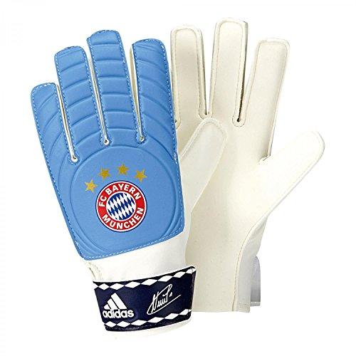 adidas Herren Torwarthandschuhe FC Bayern Control Young Pro, lucky blue s15/dark blue/white, 9.5, S90160