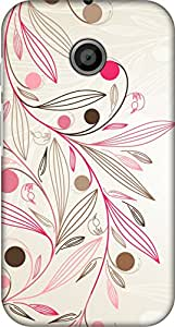 Uppercase Fashion Back Cover For Moto X