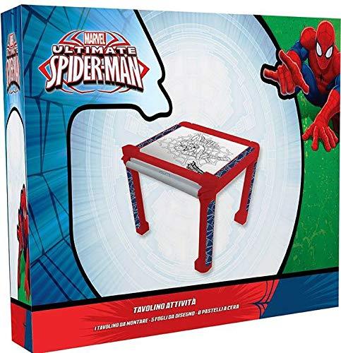 Tabelle Spiderman Marvel mit BILDERN Farbe und Farben Tabelle Aktivitäten Kinder - SP0171
