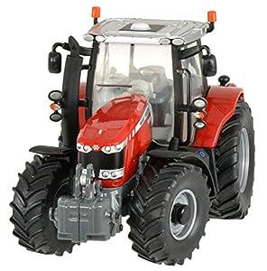 Britains - Tractor Massey Ferguson 6600, Color Rojo, Negro y Blanco (Tomy 42898)
