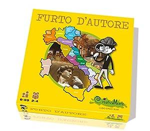 CreativaMente 301-Juegos de Caja Furto D autore un Amarillo en el Arte Italiana