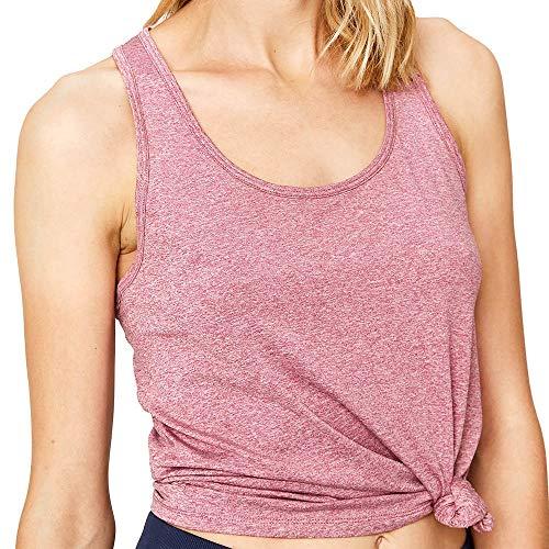 Lolë Fancy Camiseta de Tirantes, Mujer, Rojo (Newberry Heather), XL