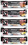 Weider 52% Protein Bar (24x 50g), Mix-Box
