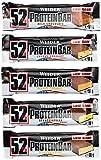Weider 52% Protein Bar (24 x 50g Box), Mix-Box (5 Geschmacksrichtungen), 1er Pack, (1 x 1.2kg)