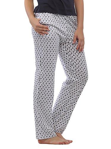 Clovia - Bas de pyjama - Femme Blanc