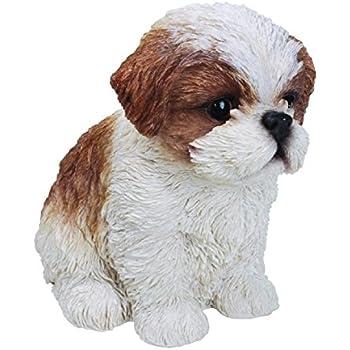 Shih Tzu Puppy Pet Pal By Vivid Arts, Brown U0026 White