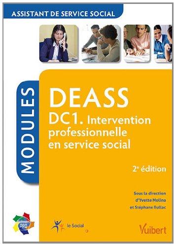 Formation DEASS (assistant de service social) - DC1 intervention professionnelle en service social - Itineraires pro - Modules - 2e édition