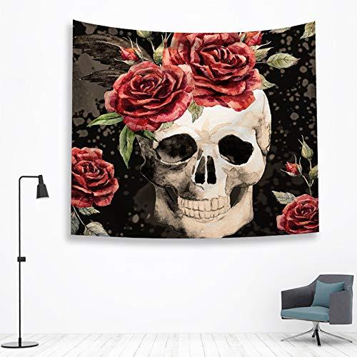 jtxqe Gedruckte Wandteppiche Rose Teufelhome 12 150 * 100cm
