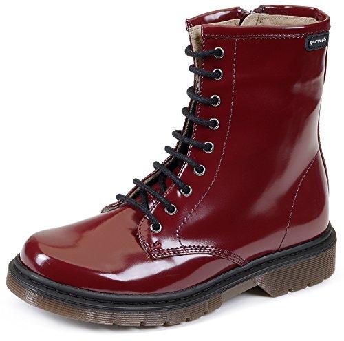 Garvalín 161686, Chaussures Fille Rouge - Burdeos (Florentic)