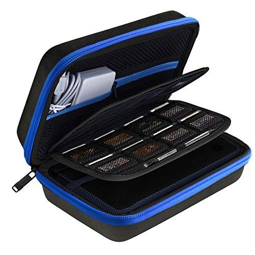 AUSTOR Hart Tasche Tragetasche für Nintendo Neue 3DS XL- Blau Neue Nintendo Ds Xl