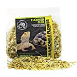 Komo-do Bearded Dragon & Tortoise Chamomile Flower Mix or Nettle Leaf Mix Treat Snack (Chamomile Flower)