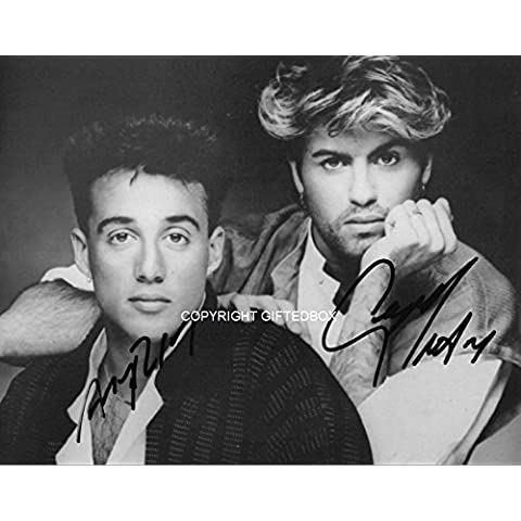 LIMITED EDITION WHAM! SIGNED PHOTO-CERT STAMPA AUTOGRAFATA FIRMA FIRMATA SIGNIERT AUTOGRAM