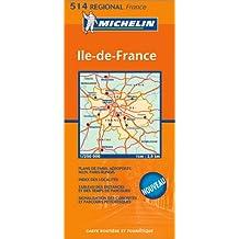 Carte routière : Île-de-France