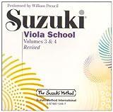 Suzuki Viola School, 2 Audio-CDs (Suzuki Method Core Materials)