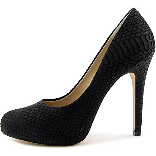 INC International Concepts Lilly Cuir Talons Black