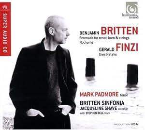 Britten: Serenade for tenor horn and strings; Finzi: Dies Natalis
