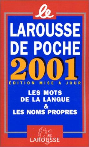 Le Larousse de poche 2001 par Collectif