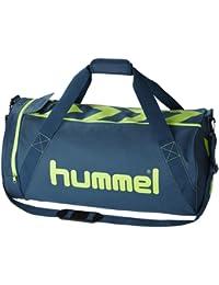 Hummel Stay Authentic Sports Tasche XS, schwarz/rot, 40,5 x 16,5 x 21 cm, 40-909-2230