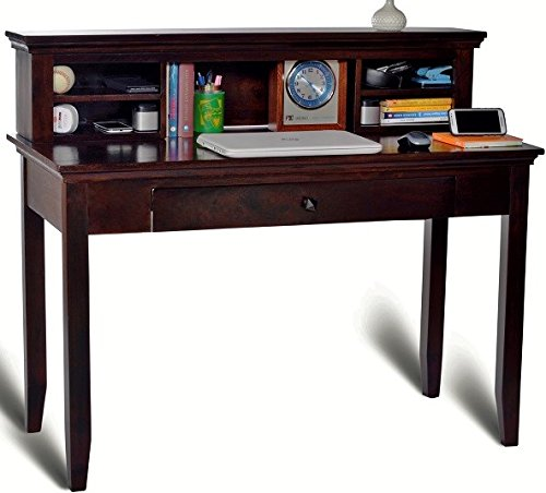 Mubell Country Study Table/Computer Table with Hutch (in Solid wood - High grade Sheesham), Additionbal Drawer for Storage  available at amazon for Rs.17890