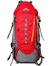 Mount Track Discover 9107 75 Ltrs Red Rucksack Hiking Backp