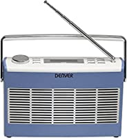 Denver DAB-37 DAB+ Digital Radio - Blue