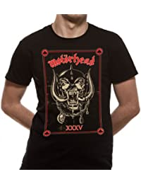 Motorhead - 35th Anniversary Mens T-Shirt Black Large