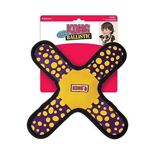 Kong Ballistic Gliderz Hundespielzeug, sortierte Farben… | 00035585388007