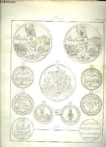 Histoire numismatique de la révolution française. planche n°10 : 1789